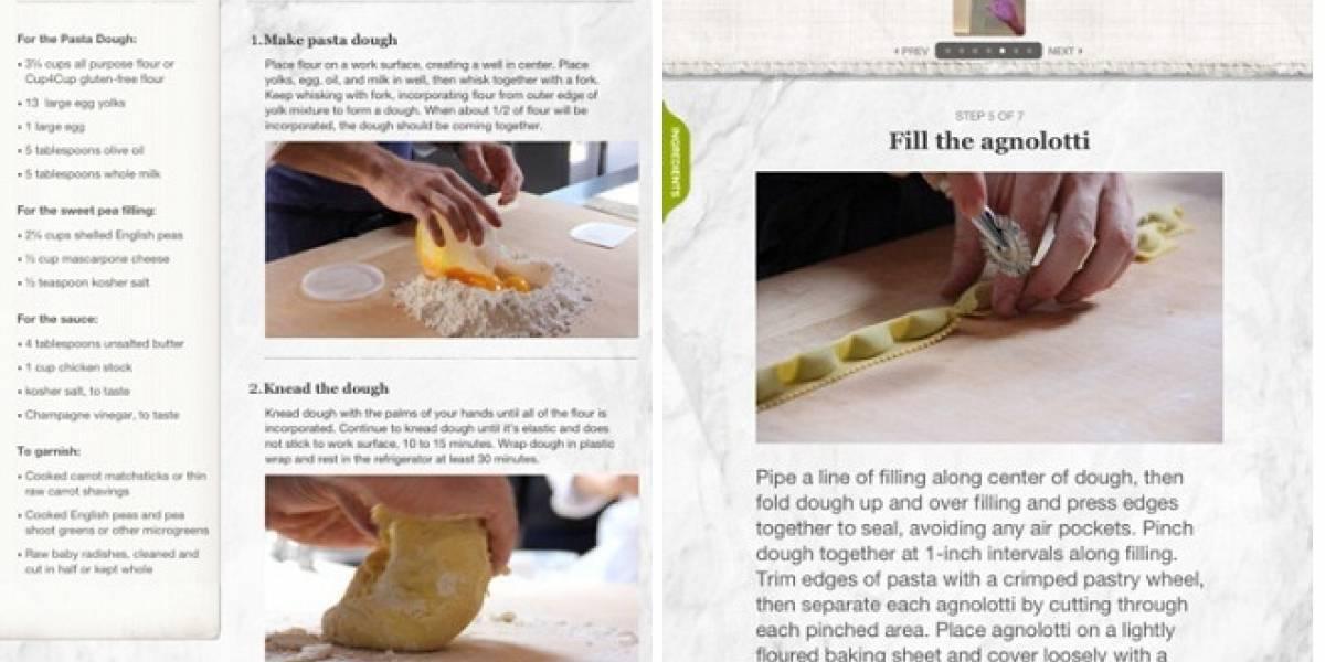 Guilt Taste: Una app especial para cocinar con el iPad