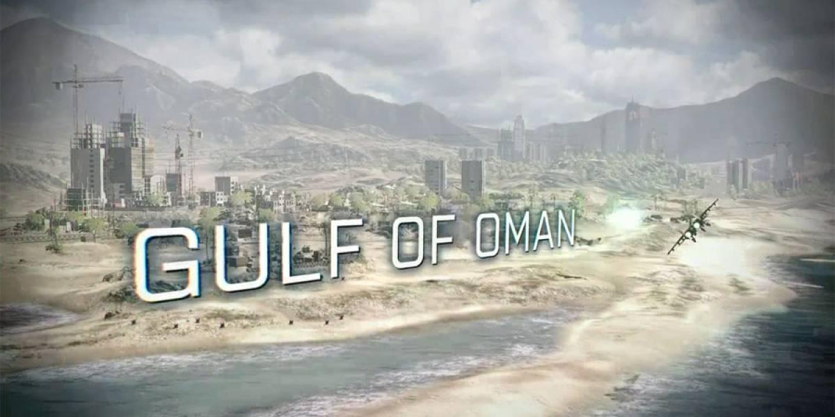 Nuevo trailer de Battlefield 3 nos muestra el mapa Gulf of Oman