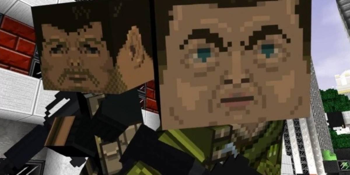 Un shooter hecho de cubos: se viene Guncraft