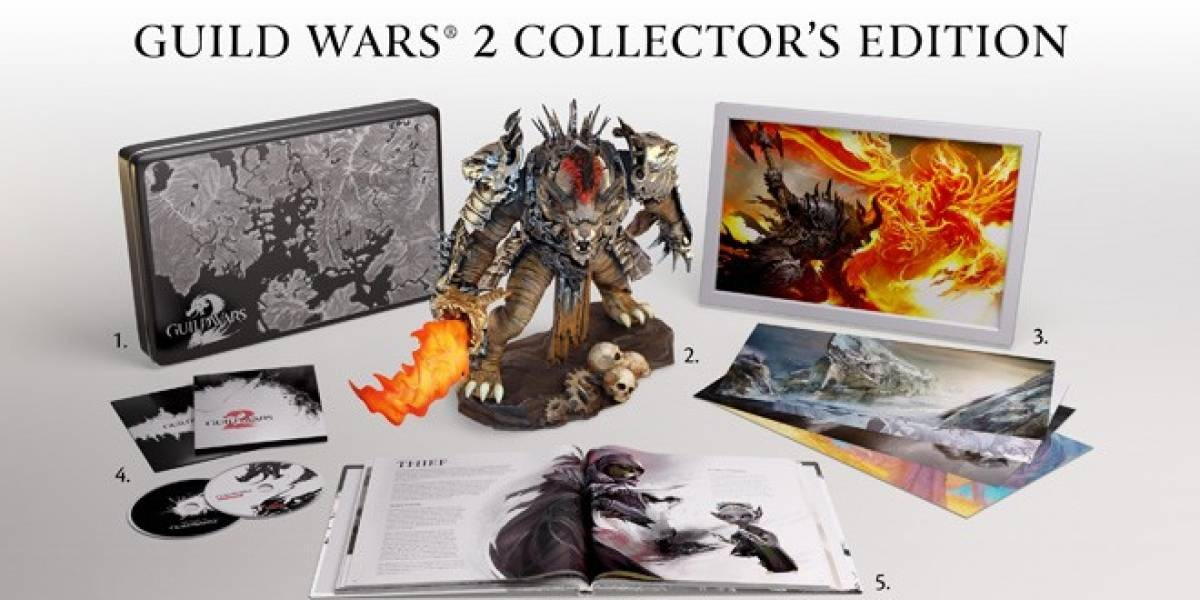 Esto es lo que ganas si compras anticipadamente Guild Wars 2