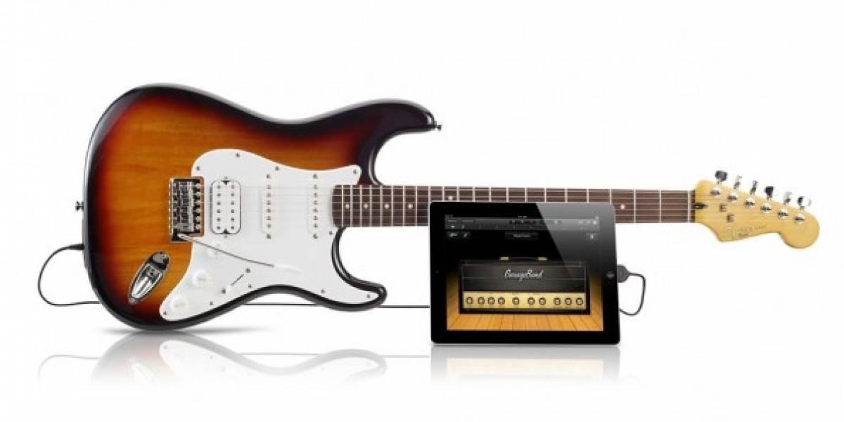 Apple comienza a vender guitarras Fender Squier Stratocaster compatibles con iOS