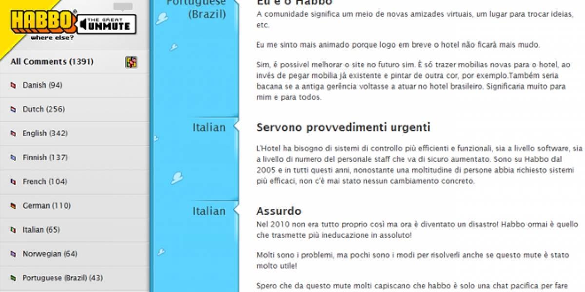 Habbo recibirá sugerencias de los usuarios para hacer el sitio más seguro