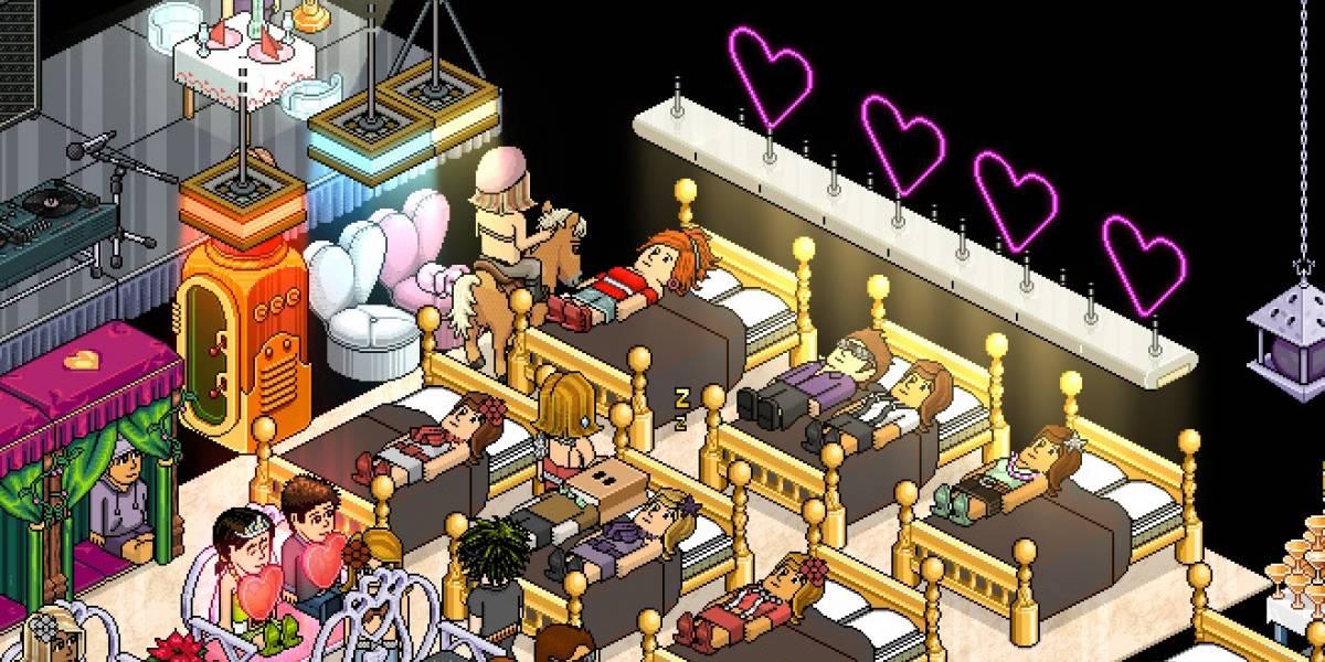 Crisis en el hotel Habbo: Aparentemente está lleno de sexo virtual