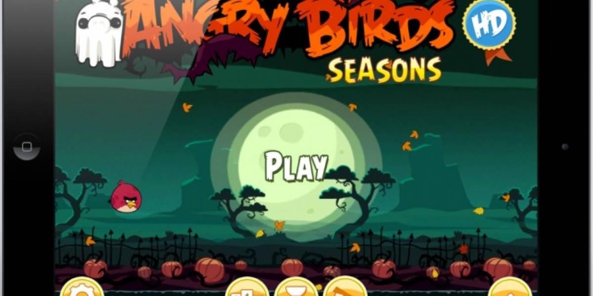 Ham`O`Ween para Angry Birds Seasons