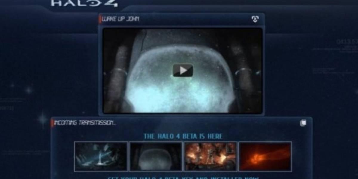 Falso sitio web invitaba a la supuesta beta de Halo 4