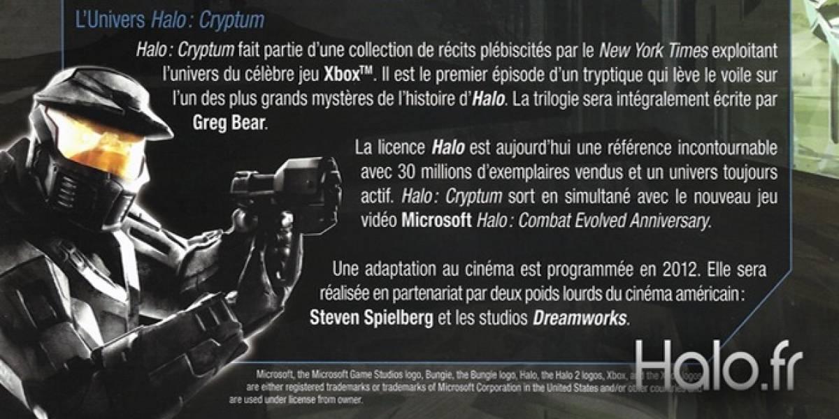 ¿Película de Halo producida por Spielberg y Dreamworks?