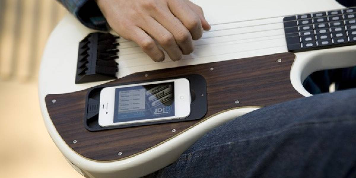 Aprende a tocar guitarra con gTar y tu iPhone