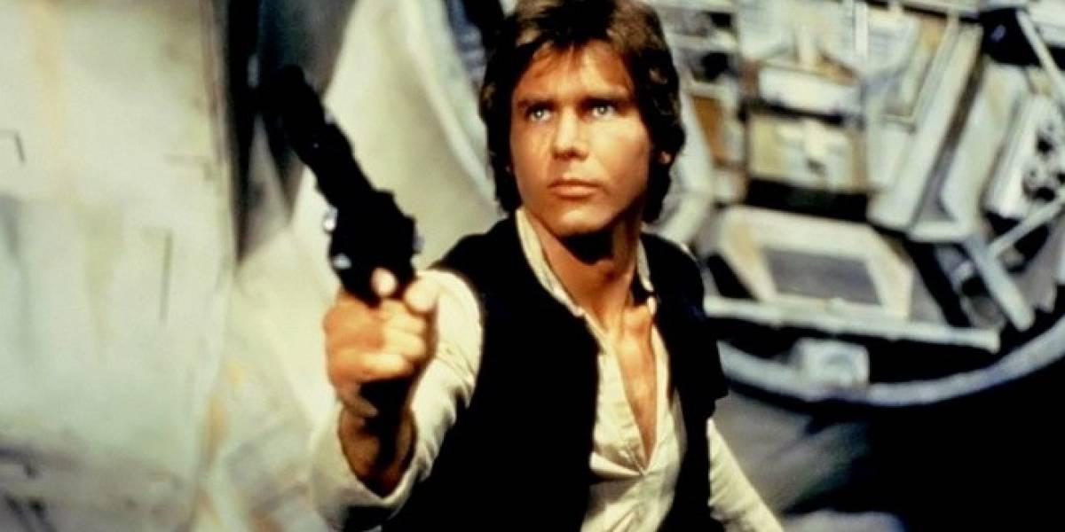 Harrison Ford juega como Han Solo en Kinect Star Wars