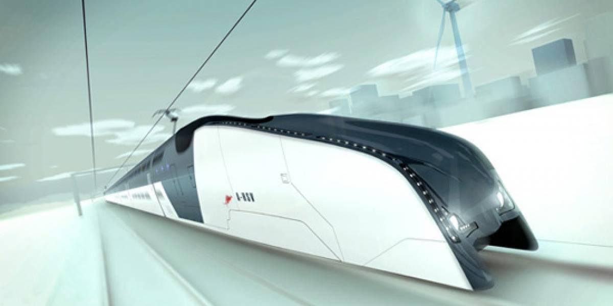 Concepto australiano de tren superrápido