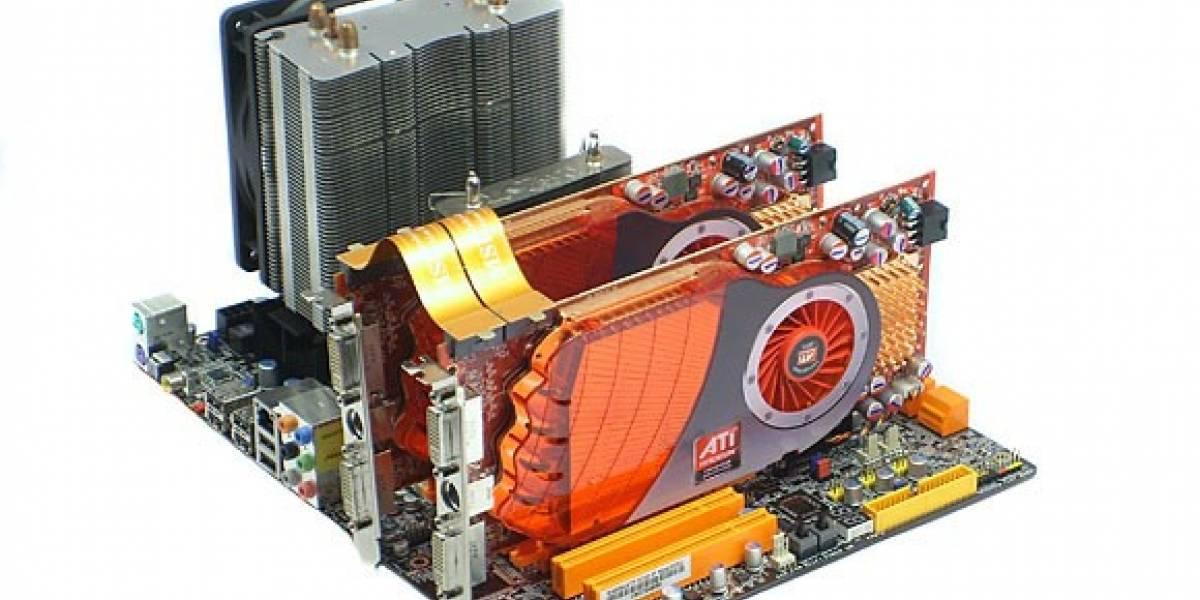 AMD ATi Radeon HD 4850 en CrossFireX