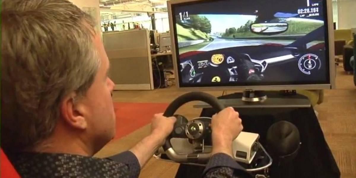 Pequeño teaser del head tracking con Kinect en Forza Motorsport 4