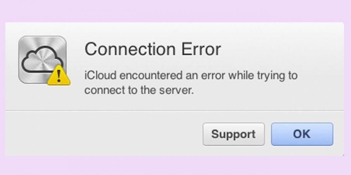 iCloud y iMessage sufren importante caída del servicio