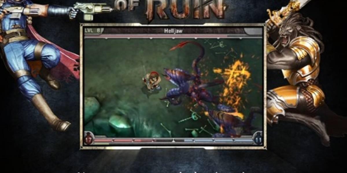 Jugabilidad de Heroes of Ruin se muestra en video