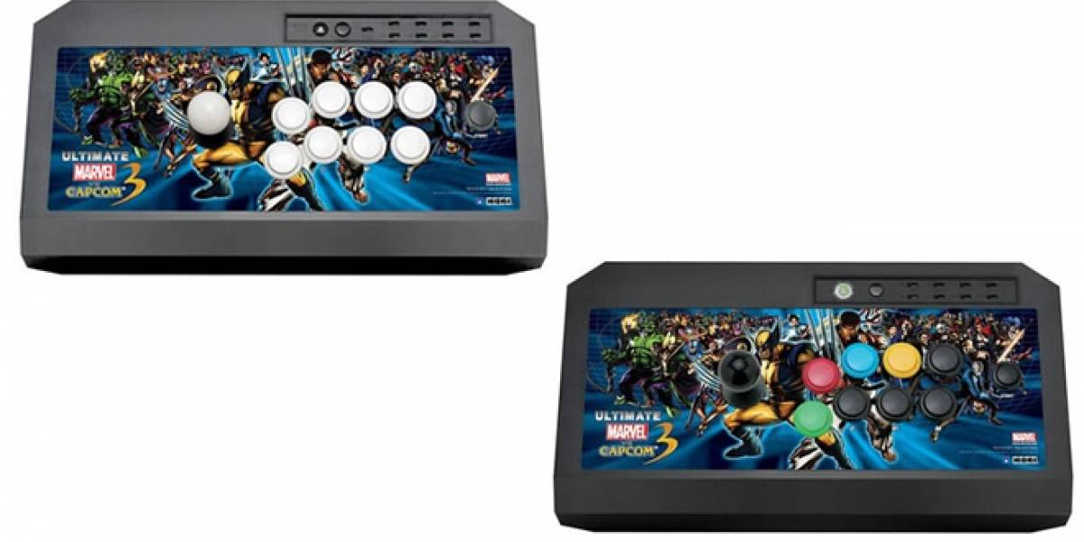 Hori pone a la venta sticks de Ultimate Marvel vs Capcom 3