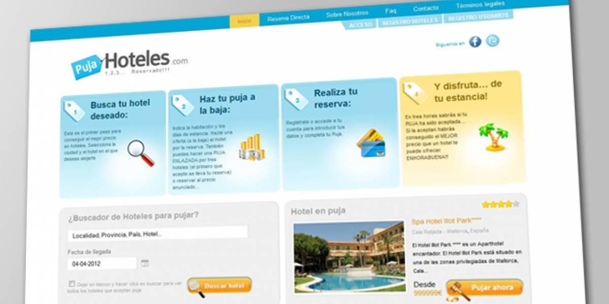 España: Decide el precio de tu habitación de hotel a través de Internet