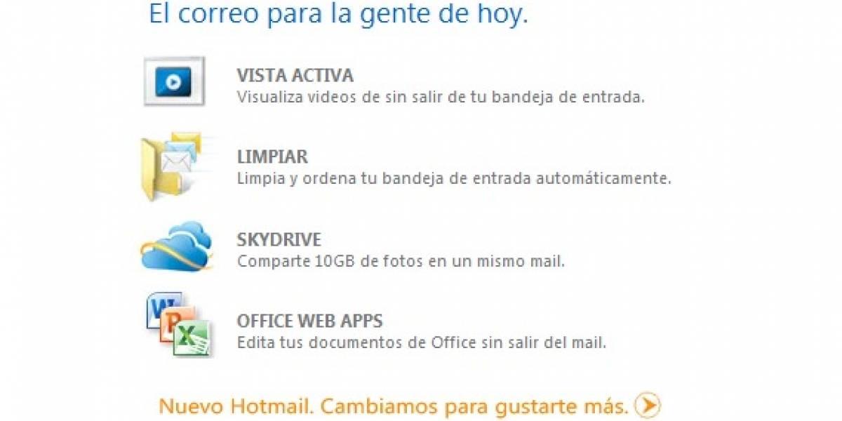 Microsoft atribuye desaparición de correos Hotmail a problema en servidor