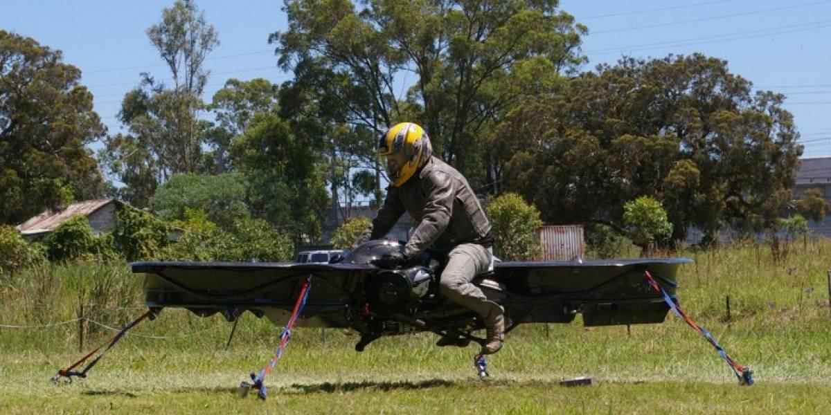 """El Hoverbike podría ser un speeder de Star Wars, pero es más bien un """"motocóptero"""""""