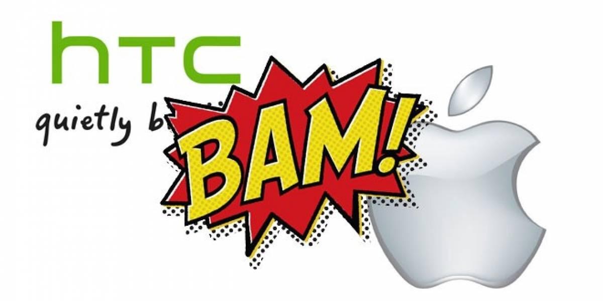 Guerra de patentes: HTC gana a Apple en Reino Unido