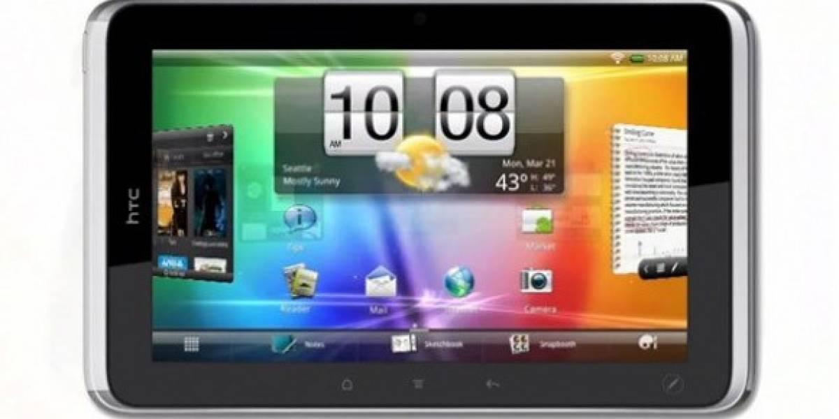 HTC pretende lanzar un nuevo tablet en 2012
