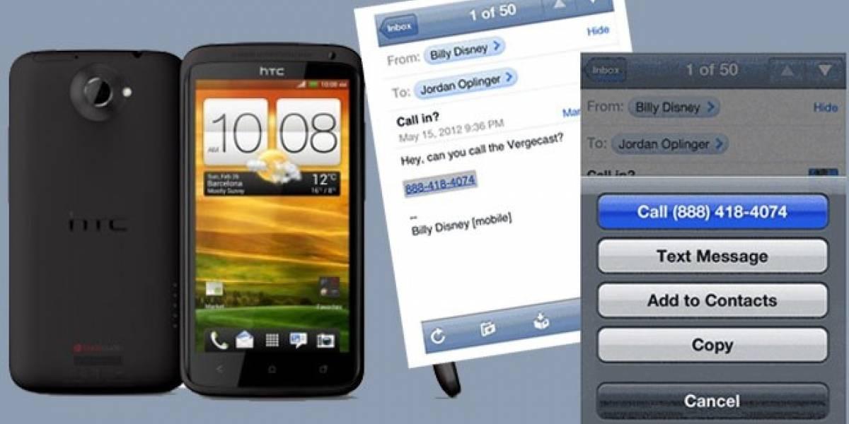 Aduanas de EEUU retienen envíos de HTC One X y Evo 4G LTE por petición de Apple