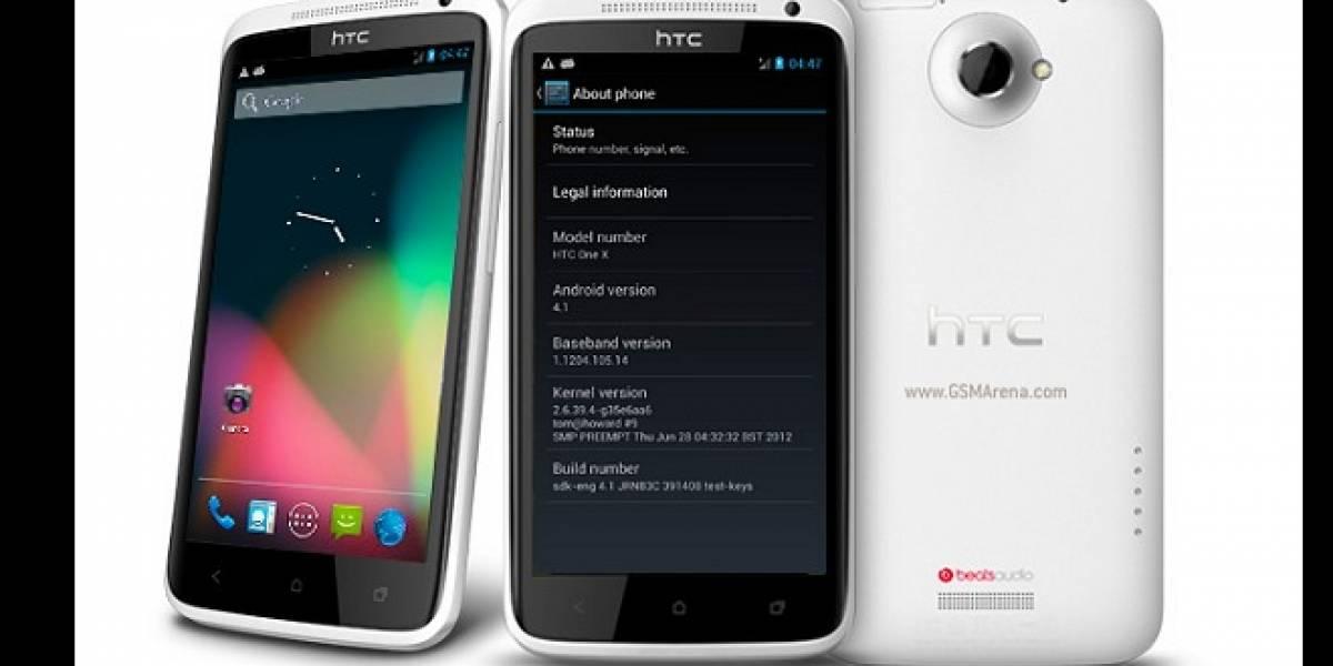Jelly Bean llega oficialmente este mes para el HTC One X y One S