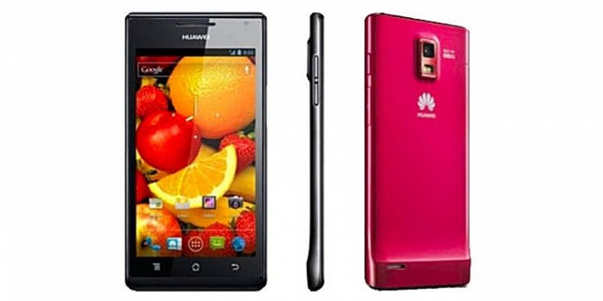 En abril inicia lanzamiento de Huawei Ascend P1 en distintas partes del mundo