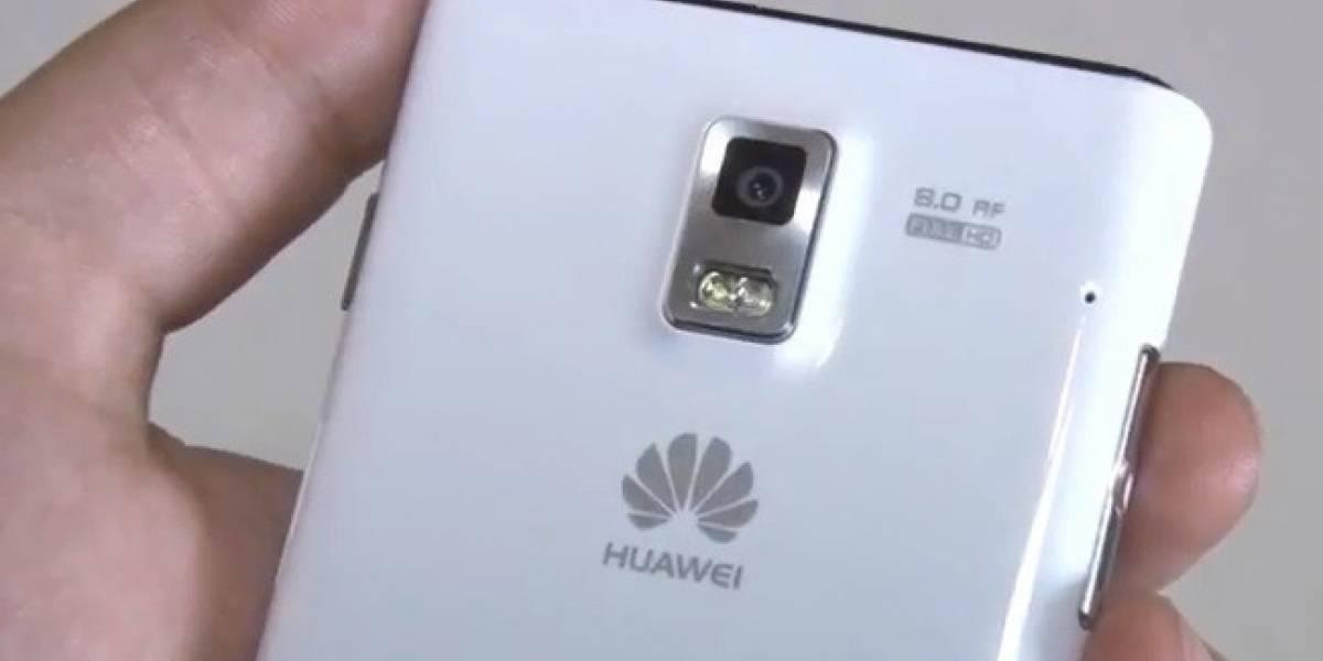 W Video: El Huawei Ascend P1 se deja ver en detalle en 3 minutos