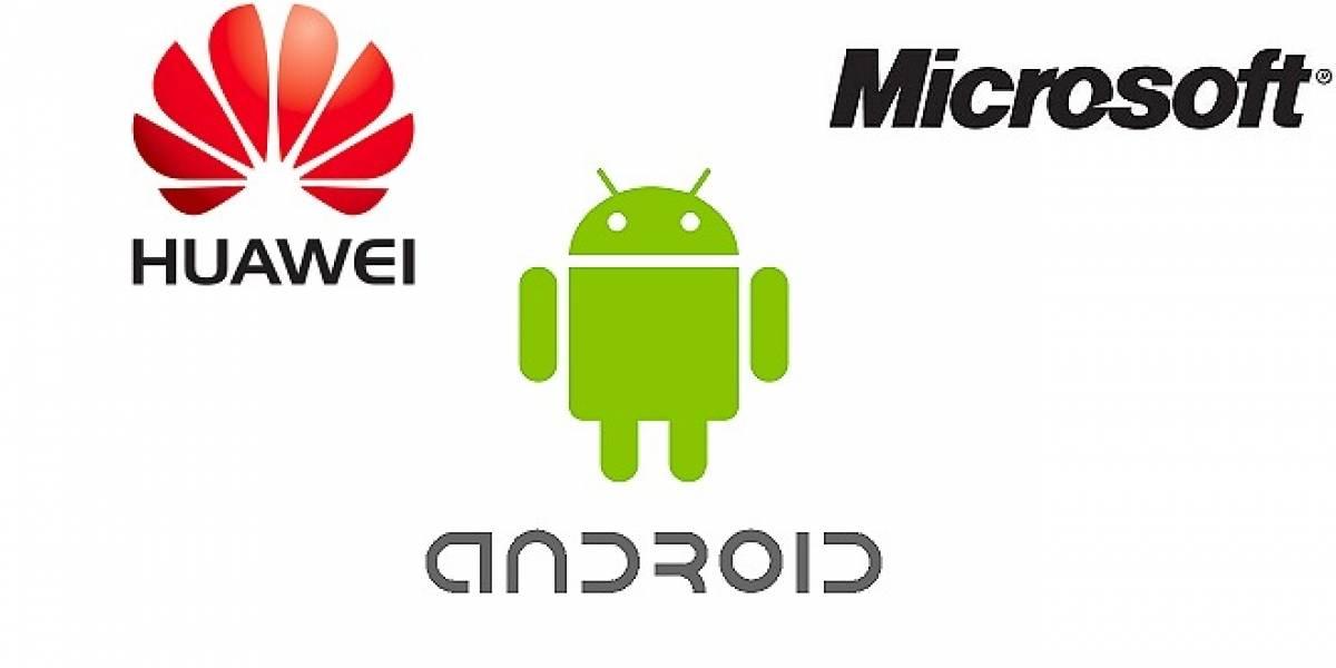 Huawei deberá pagarle a Microsoft por cada equipo con Android que venda
