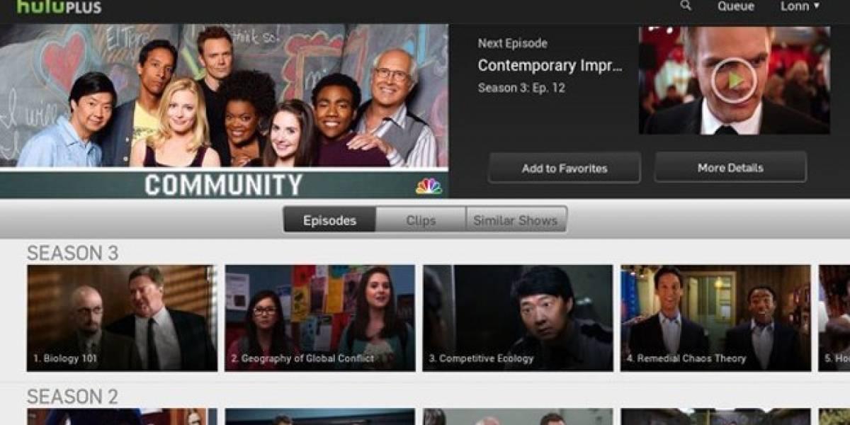 App de Hulu se actualiza para siete tablets Android