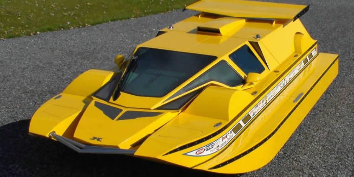 Auto anfibio casero está siendo rematado por eBay