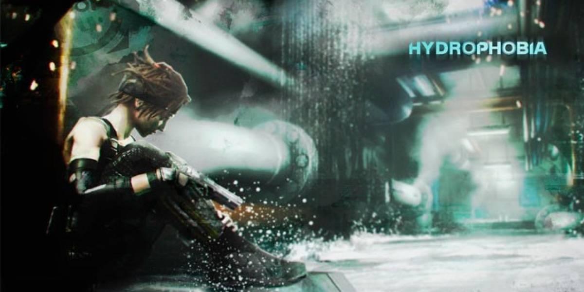 Estudio de Hydrophobia con el agua hasta el cuello