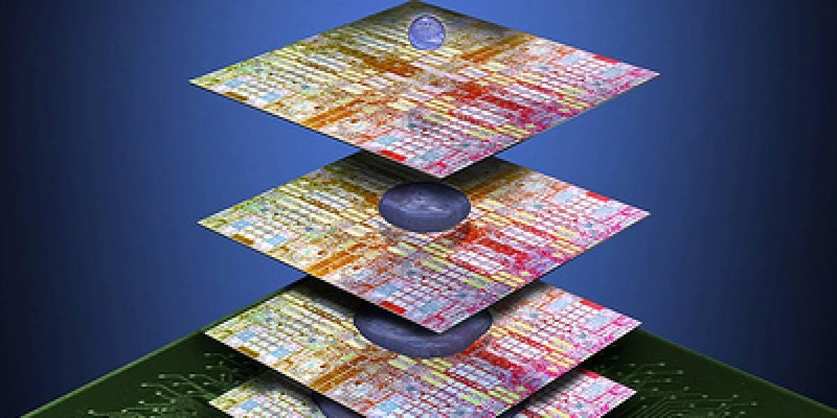 IBM y 3M quieren pegar un chip arriba de otro para crear superchip 3D