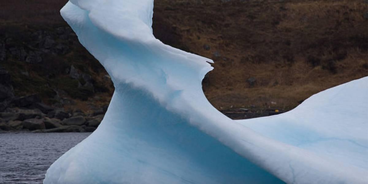 El tsunami japonés creó enormes icebergs en la Antártica (video)