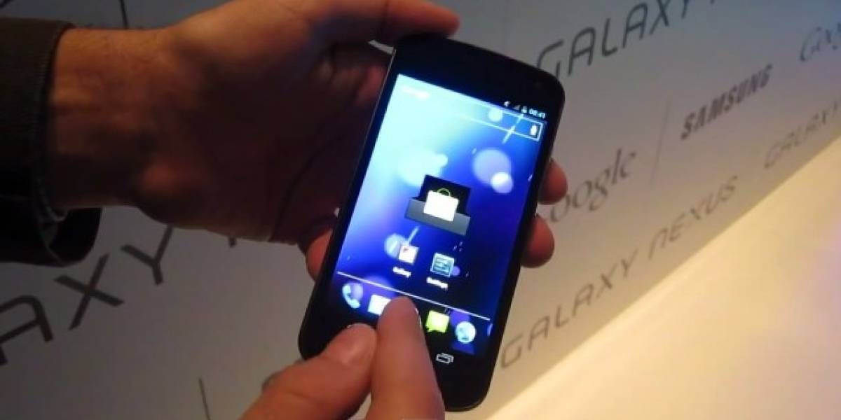 El primer Hands-On del Galaxy Nexus con Ice Cream Sandwich