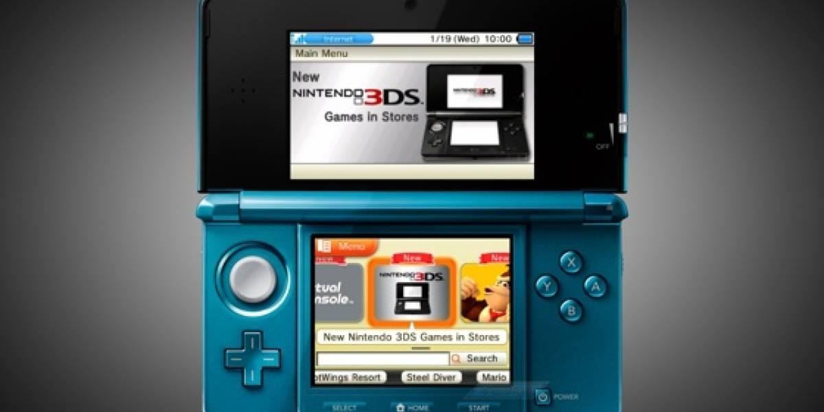 Nintendo retrasa la salida de la eShop y el navegador para 3DS