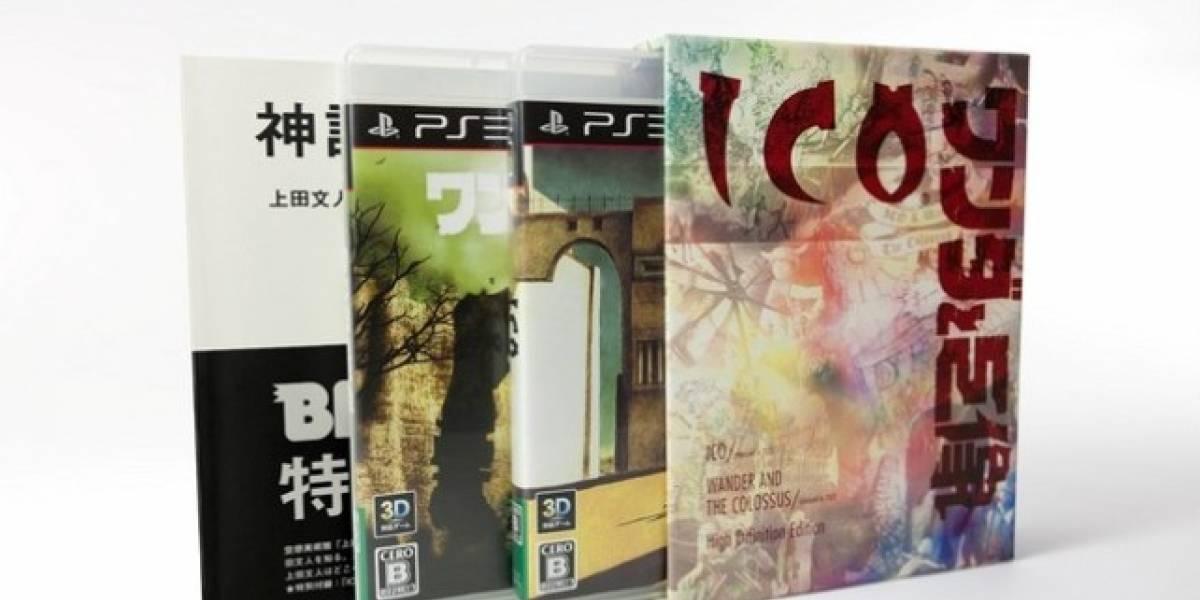 Las reediciones de Ico y Shadow of the Colossus llegarán a Japón el 22 de Septiembre