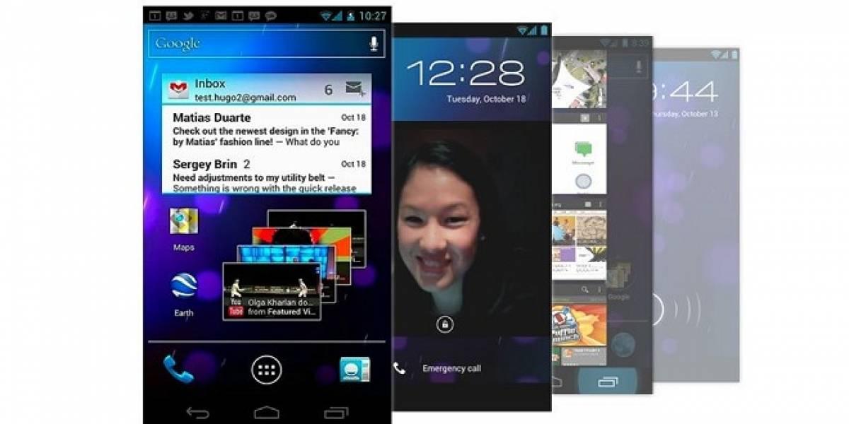 Ice Cream Sandwich para Galaxy S II, Tab 10.1/8.9/7.7/7.0 Plus, y Galaxy Note para el 2012