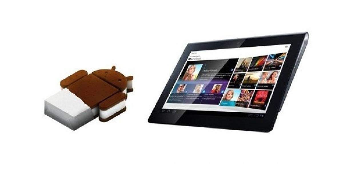 Sony Tablet S comienza a actualizarse a Android Ice Cream Sandwich