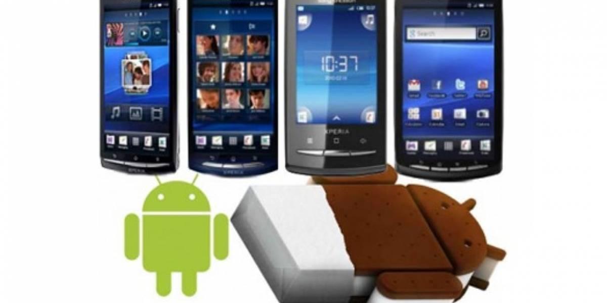 Todos los smartphones Sony Ericsson de este año recibirán Android 4.0
