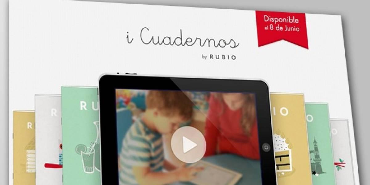 España: Cuadernos Rubio se moderniza con una aplicación para iPad con ejercicios