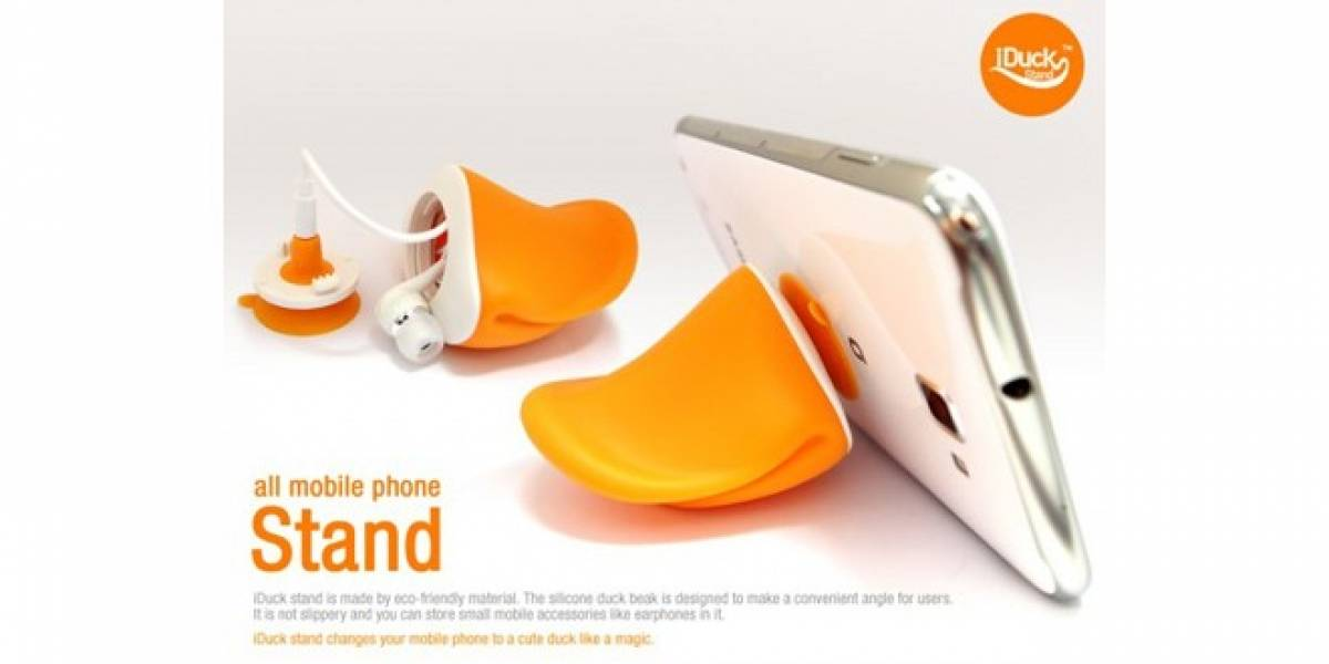 Disfraza a tu smartphone de pato con iDuck
