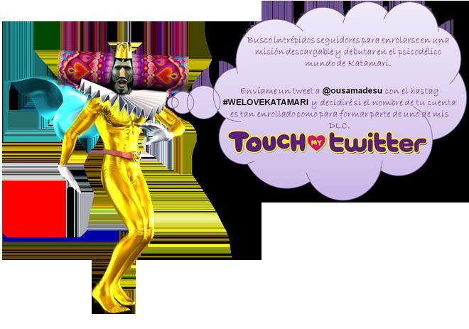 8474919e9 Tu Twitter podría salir en un DLC de la serie Katamari