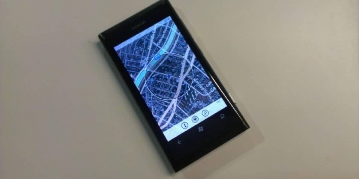 Windows Phone usará información de tráfico desde Nokia Maps