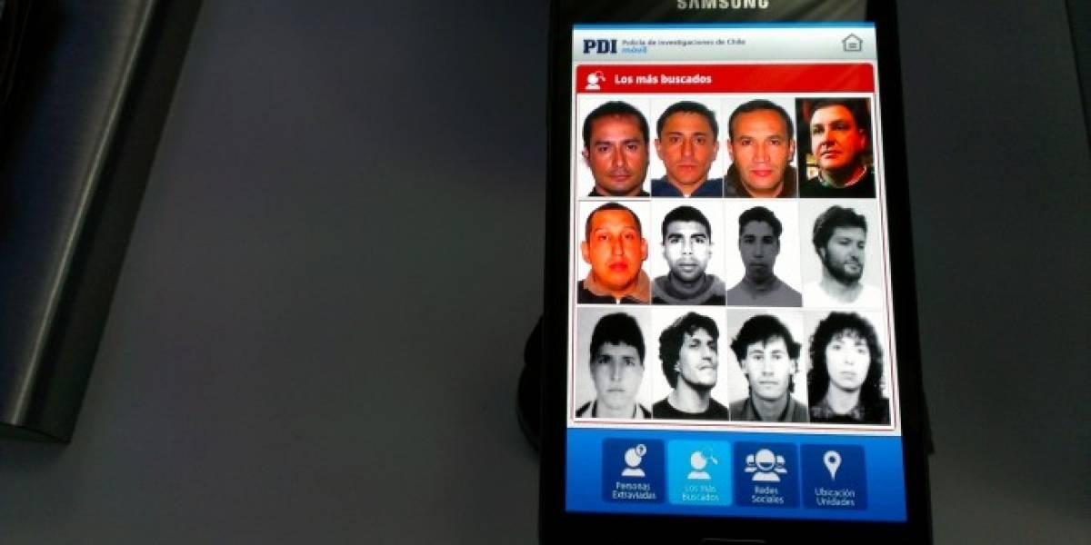 Chile: PDI y Samsung lanzan aplicación que propicia acceso a información policial relevante