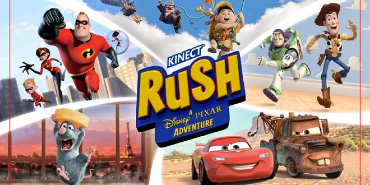 Xbox 360 España anuncia: Kinect Rush: Una aventura Disney-Pixar