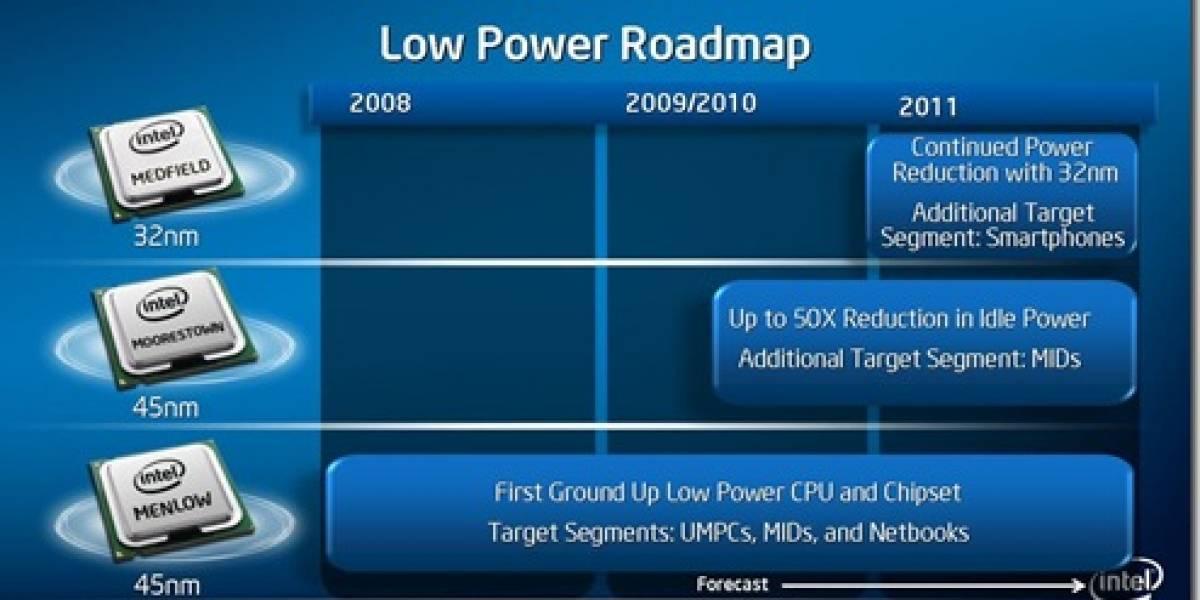 Intel entrara al mercado Smartphones el 2011
