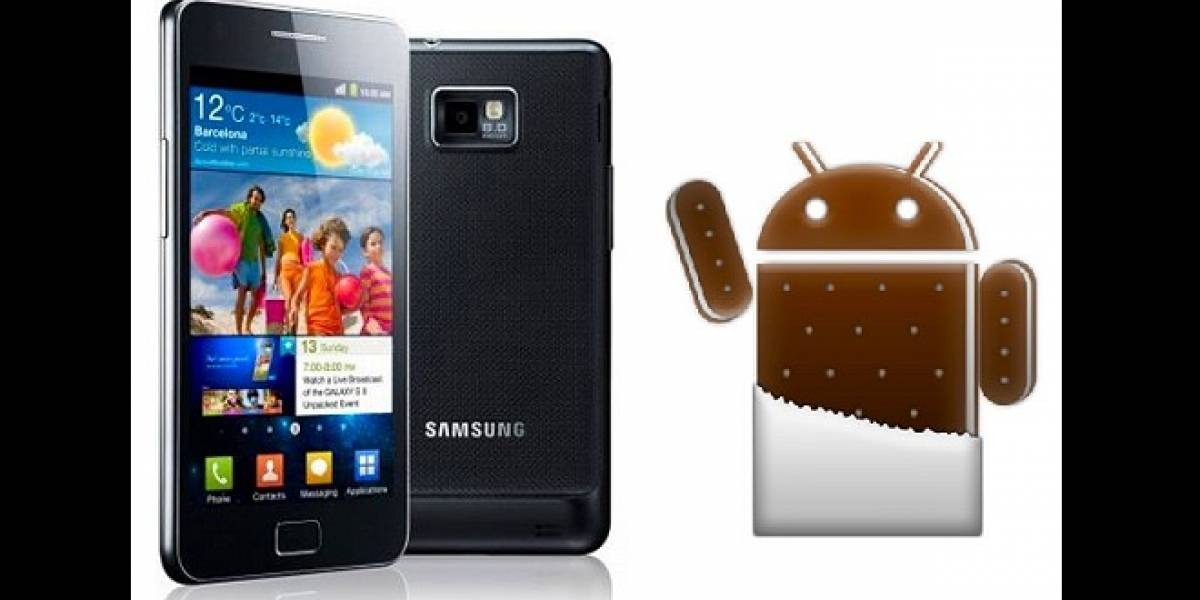 Chile: Android Ice Cream Sandwich oficial ya disponible para el Galaxy SII de Movistar