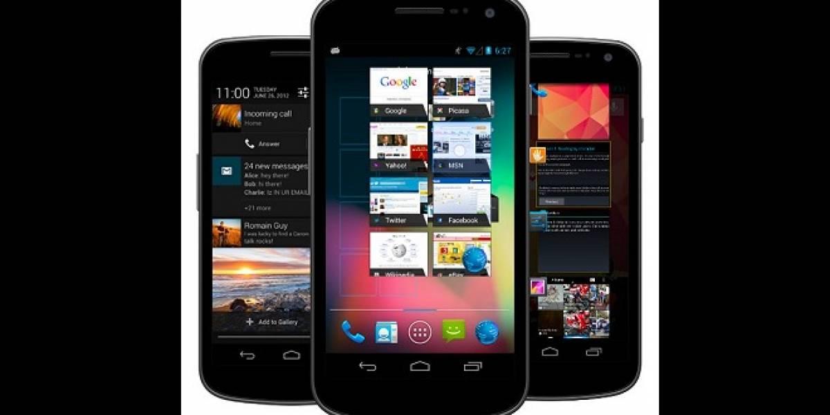 Galaxy Nexus ya comienza a actualizarse a Android 4.1.2