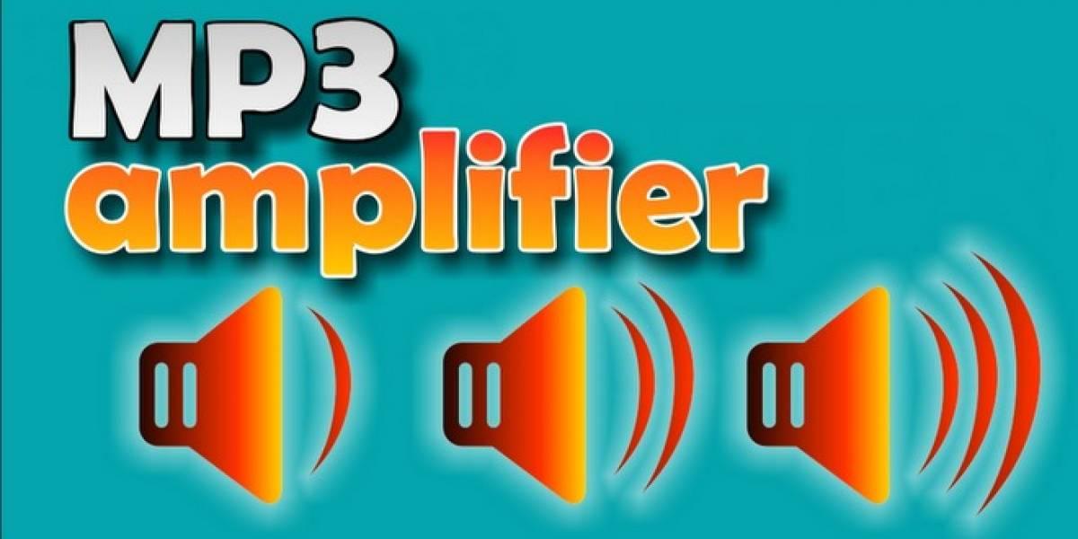 Normaliza el volumen a tus MP3 [W App]