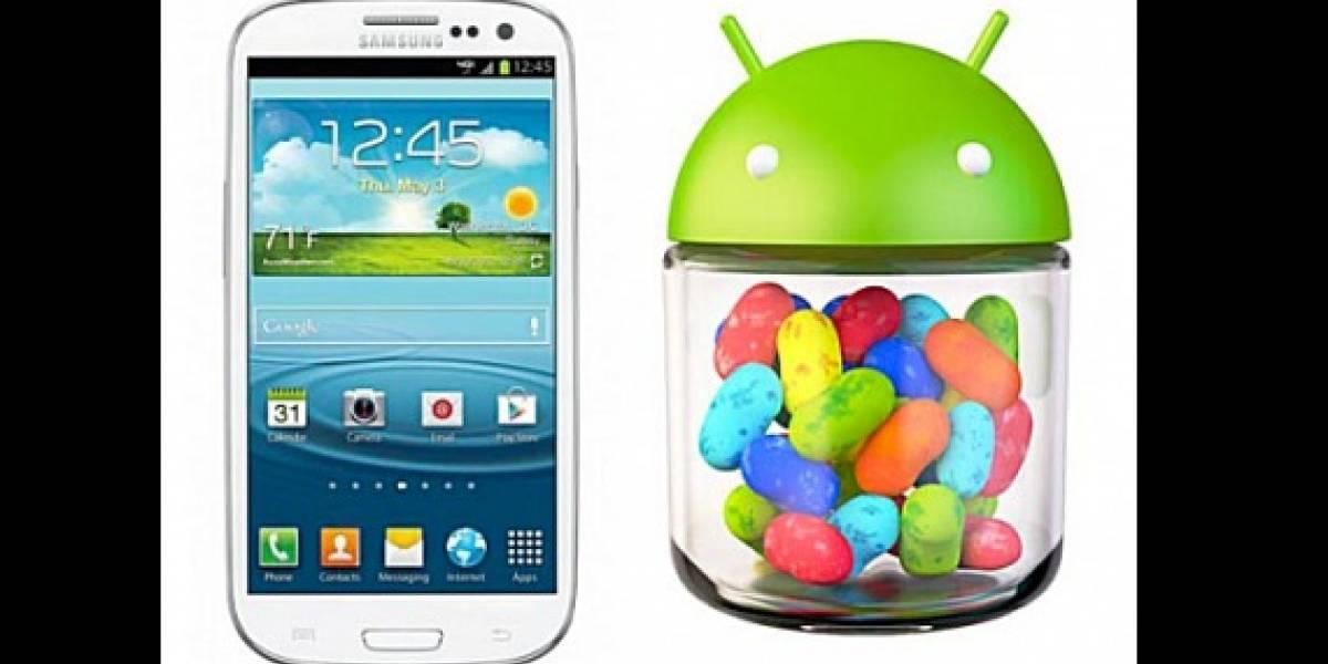 IFA 2012: Samsung confirma actualización a Jelly Bean para SIII y Note 10.1